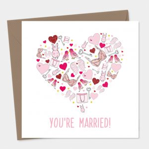 You're Married Card - Newly Weds